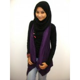 Chiffon Vest Cardigan - Purple