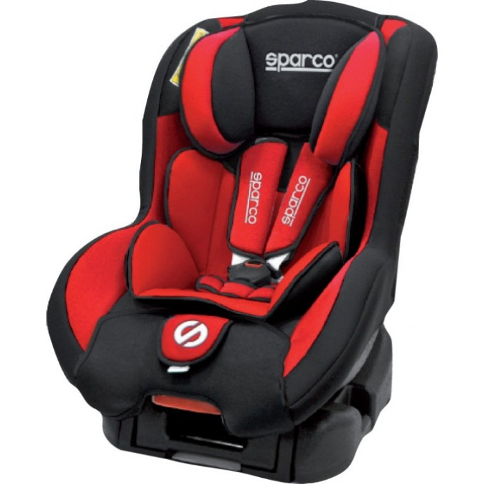 Sparco F500k Baby Seat Red