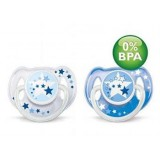 Philips Avent - Night Time BPA Free Soother (2pk) *BEST BUY*