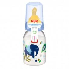 NUK- Classic Std PP Btl 110ml (BPA Free) *Latex Teat Size 1M*