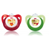 NUK- Disney Sleeptime Silicone Soother S2 (6-12mth) *2pcs*