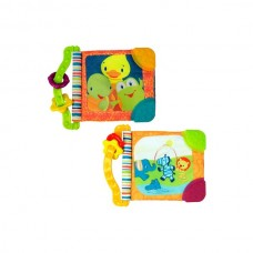 Bright Starts -  Teether Book (assorted 1 pc)
