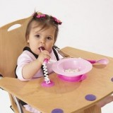 Ezee Reach - Stay-Put Cutlery & Bowl *Pink*