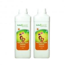 Baby Organix - Kids Wear Liquid Cleanser (1000ml) *TWIN PACK*
