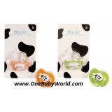 Basilic - Soother In Orthodontic Shape-*Size M* *BPA FREE (D040)
