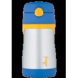 Thermos - Foogo 300ml S/S Sippy Bottle w Straw (Blue) BS535(BL003)