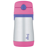 Thermos - Foogo 300ml S/S Sippy Bottle w Straw (Pink) BS535(PK003)