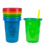 The First Years - Take & Toss 10oz Straw Cups (4-pack)