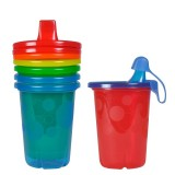 The First Years - Take & Toss Spill-Proof Cups 10oz (4pcs)