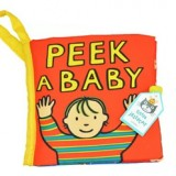 Adorable - Peek A Baby Cloth Book