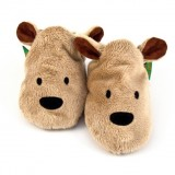 Funky Feet - Soft Soles Shoes *Brown Bear*