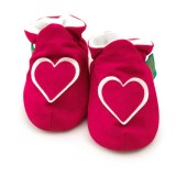Funky Feet - Soft Soles Shoes *Hot Pink Heart*