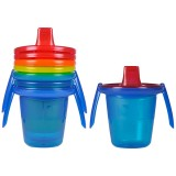The First Years - Take & Toss 7oz Cups with 2 Handles (4pk)
