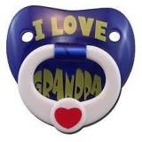 "Billy Bob - ""I Love My Grandpa"" Pacifier"