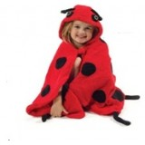 Adorable - Hooded Animals Towel *Ladybird*