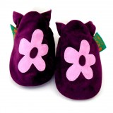 Funky Feet - Soft Soles Shoes *Purple Flower*
