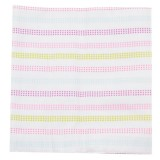 Adorable Receiving Blanket- Dots In Row *Pink*