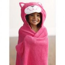 Adorable - 'All Wrapped Up' Hooded Bath Towel *Pink Bunny*