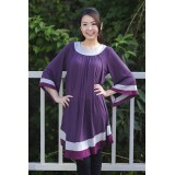 Autumnz - Arabella 2-in-1 Maternity/Nursing Tunic (Plum)