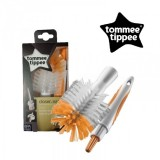 Tommee Tippee - Bottle & Teat Brush Set (Orange)