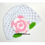 Adorable Crochet Hat *Elegant Sweetie*