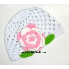 Adorable Crochet Hat *Elegant Sweetie*