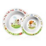Philips Avent - Toddler 2 Bowl Set +6m *BPA FREE*