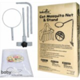 Baby Love - Mosquito Net N & Stand (for Standard Baby Cot) (BL3505s) *BEST BUY*
