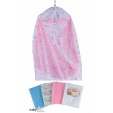 Baby Love - Cradle Mosquito Net (889 F) with Zip *Floral* (BL3512Z) *BEST BUY*