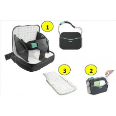 Tomy - Freestyle 3-in-1 Booster Seat (Grey/Black)