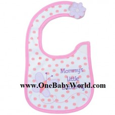 Adorable Bib - Mommy's Little Butterfly (Pink)