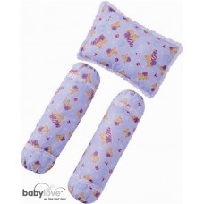 Baby Love - *1st Collection* 3 in 1 Pillow & Bolster Set *BEST BUY*