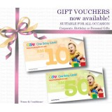 Gift Vouchers (for Boutique redemption only)