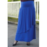 Autumnz - Breezy Maternity Long Skirt  *Midnight Blue*