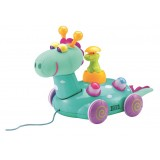 Early Star - Wobbly Dino Pull Toy (AWARD WINNER)