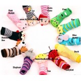 Nissen - Animal Rattling Socks *0-2 years* (E)
