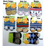 Nissen - Animal Rattling Socks *0-2 years* (D)