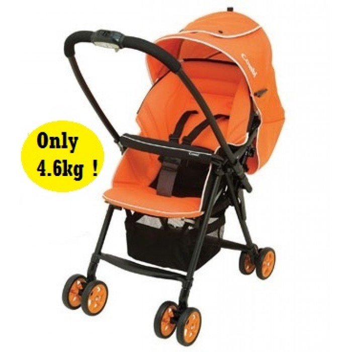 Combi Stroller - Well Comfort *Blissful Orange*