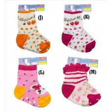 Adorable - Baby Socks Mixed Design 2