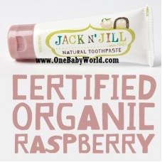 Jack N' Jill - Natural Toothpaste *Rasberry*