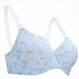 Autumnz - FLORENCE T-Shirt Nursing Bra (Underwired) *Pansy Blue* BEST BUY