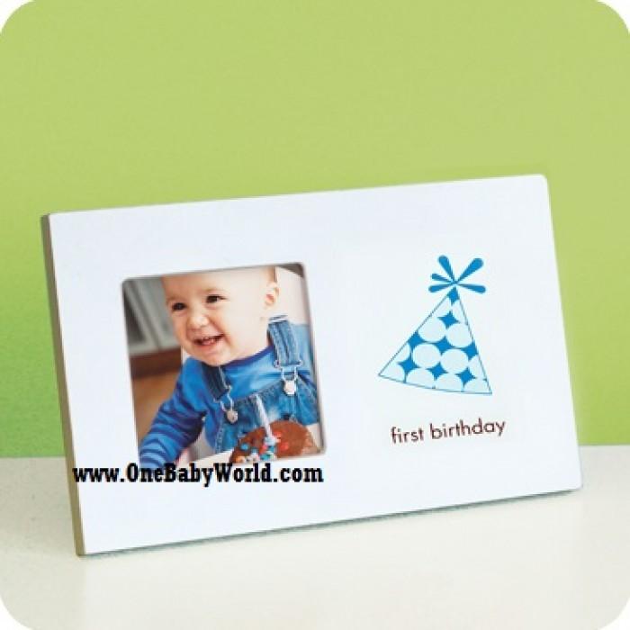 Pearhead - First Birthday Frame *Blue*