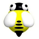 Little Bean - Tap On LED Night Light *Bee*