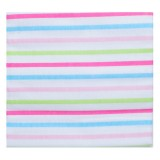 Adorable Receiving Blanket- Thick Lines *Pink*