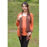 Autumnz - Janelle 2-in-1 Maternity/NursingTop (Pumpkin/Brown)