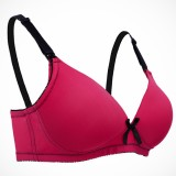 Autumnz - Mystique Nursing Bra (No underwire) - Raspberry/Blk