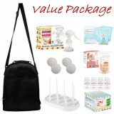 Autumnz - JOY Manual Breast Pump **VALUE PACKAGE**