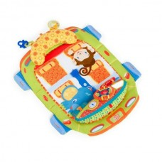 Bright Starts -  Tummy Cruiser Prop & Play Mat (Safari) *BEST BUY*