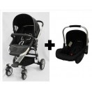 Halford-  Zuzz 4 Travel System *Black*