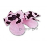 Bumble Bee - Pink Princess Chenille Socks